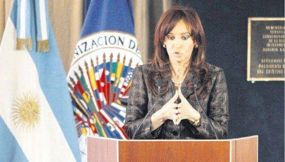 La Presidenta propone eliminar los delitos de calumnias e injurias