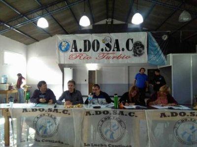 ADOSAC decretó 120 horas de paro