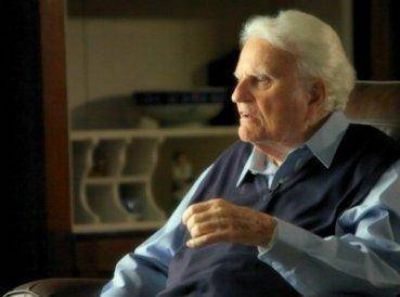 """Billy Graham: """"Jesús no murió como mártir, sino como salvador"""""""
