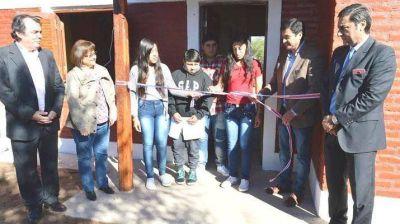 Inauguran viviendas sociales en Remes