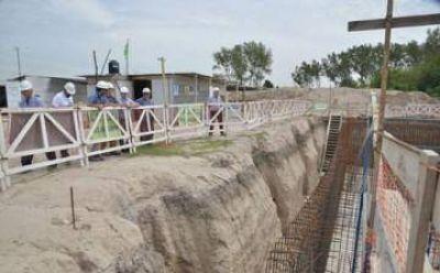 Avanza la planta de tratamiento de agua en El Jagüel