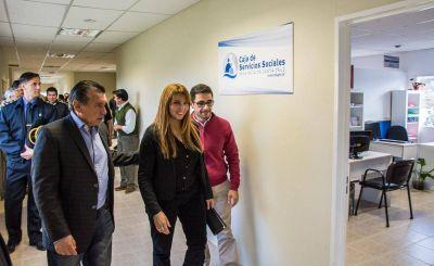 Se inauguró una nueva delegación de la Caja de Servicios Sociales