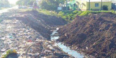 Comienzan las obras de desagüe para el barrio Futuro