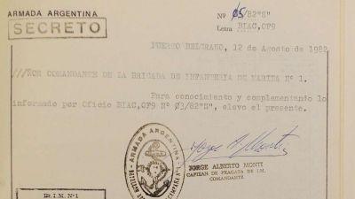 Malvinas: 35 años después, surgen documentos secretos de la guerra