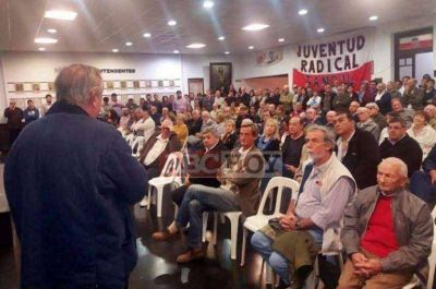 Tandil: el radicalismo competirá con lista propia en las PASO