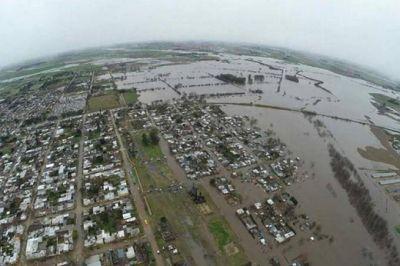Salto: Más de mil evacuados ante una nueva inundación