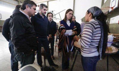 Vidal suma a Peña para mostrar presencia en zonas inundadas