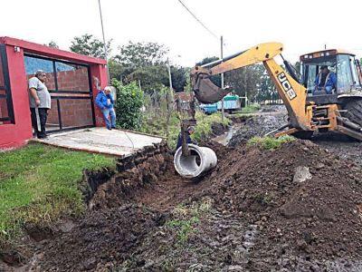 El Emvial intenta recuperar las calles dañadas por la lluvia