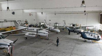 Vidal desarticula la dirección de Aeronáutica y enfrenta a los pilotos