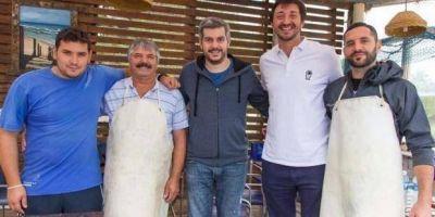Marcos Peña visitó a Yeza en Pinamar y le tiró flores en medio de la campaña electoral