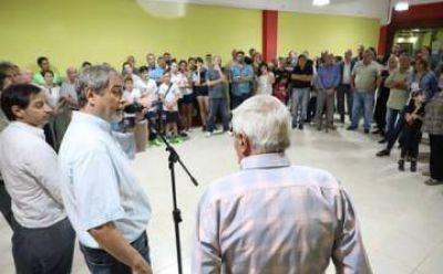 Ferraresi inauguró nuevas instalaciones en el Club Estrella del Sud