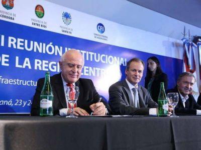 Se reúnen los gobernadores de la Región Centro