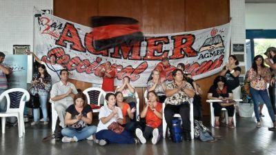 Agmer Paraná comenzará la semana con asambleas y movilización