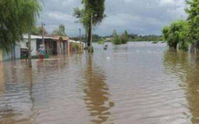 Baja el agua en Salto y hay más de 100 manzanas afectadas
