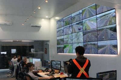Otorgan certificado de calidad al monitoreo por cámaras de la Autopista Buenos Aires-La Plata