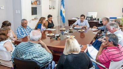 Vecinos de Emilio Mitre, Villa del Parque y el Parque Natural se reunieron con Petrecca