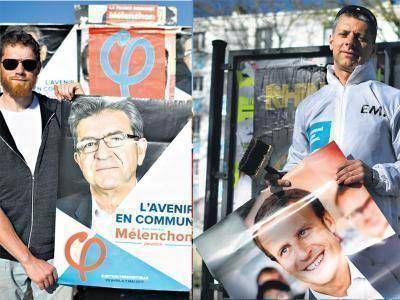 Macron o Mélenchon, el dilema de la izquierda