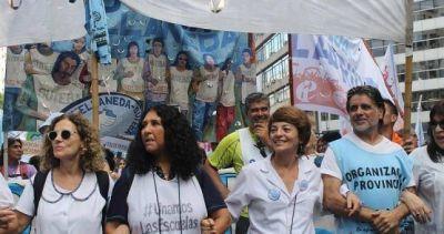 Suteba le pide a Vidal que no deje ningún docente bajo la línea de pobreza