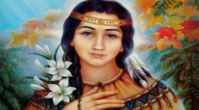 Hoy la Iglesia celebra a Catalina Tekakwitha, la primera santa piel roja