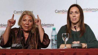 Sorpresa y resignación en el entorno de María Eugenia Vidal por las declaraciones de Elisa Carrió