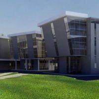 Así será el moderno edificio que se hará en el Parque Norte