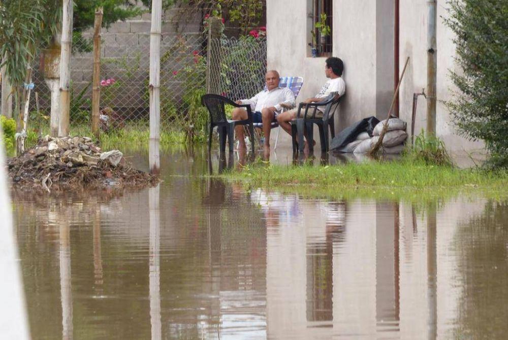 Reclaman obras desde 2003 para combatir las inundaciones