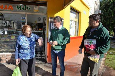 San Fernando llevó el programa de control de plagas al barrio Fate