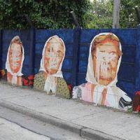 Atacaron el mural de las Madres de Plaza de Mayo