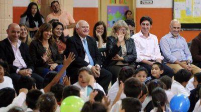 Lifschitz y Balagué iniciaron la Semana de la ley de educación