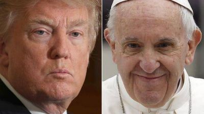 El presidente Donald Trump pretende acotar la influencia del papa Francisco en la conflictiva agenda global