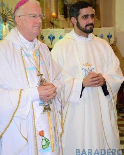 El Padre Lucas es el nuevo Párroco de la Iglesia Santiago Apóstol
