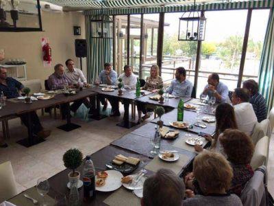 Autoridades locales se reunieron con el Director Provincial de Educación Superior