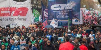 """Para la CTA, el gobierno no busca reformar el modelo sindical sino """"condicionar"""" a los dirigentes"""