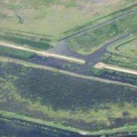 Inundaciones: El gobernador pampeano autorizó al intendente de Larroudé para que se coloquen más alcantarillas en la 188
