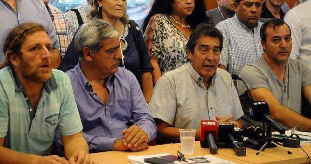 """""""Hay toda una estrategia gubernamental tendiente a generar condiciones para la represión"""""""