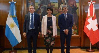 Dujovne y Caputo se reunieron con la presidenta de Suiza en búsqueda de inversiones