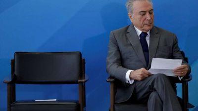 Caso Odebrecht: Temer no despedirá por ahora a los ministros denunciados