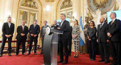 Rodríguez Saá ausente en la firma del acuerdo para reducir el déficit fiscal