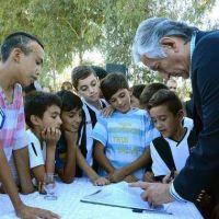 El Gobierno anunciará obras en más de 25 clubes de toda la provincia