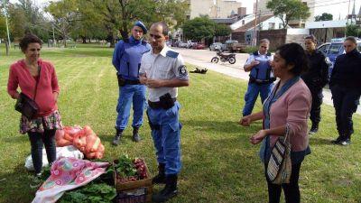 Repudian el desalojo de la Feria Campesina de Luján