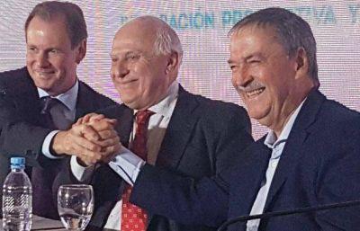 Schiaretti pidió obras hídricas para Santa Fe y Buenos Aires