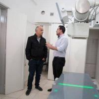 Máspero: incorporan un ecógrafo y un equipo de rayos X