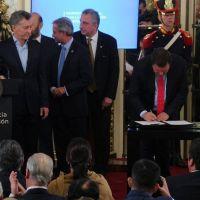Río Negro suscribió el Compromiso Federal para la Modernización del Estado