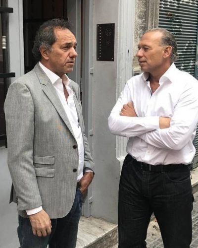 Foto con Berni: ¿Scioli tiene candidato en la Ciudad?