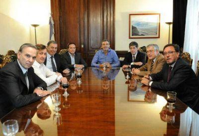 Florencio Randazzo pasó por el Senado y almorzó con Miguel Ángel Pichetto