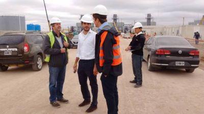 En dos meses estará funcionando la central termoeléctrica construída en General Rojo