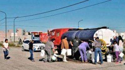 La falta de agua potable paralizó la actividad escolar en amplias zonas de Chubt