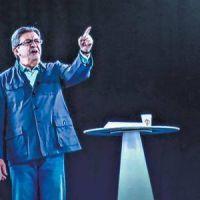 Mélenchon pelea la campaña presidencial