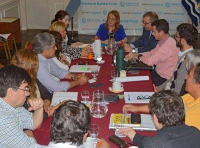 Alicia se reunió con representantes de APROSA