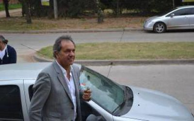 Elecciones 2017: Scioli sigue recorriendo distritos bonaerenses